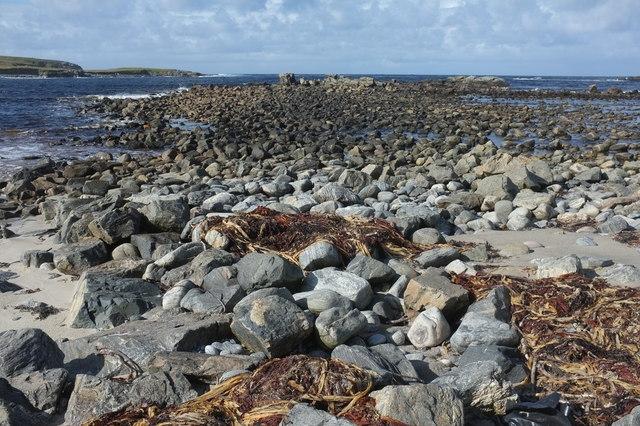 Rocks at Loch Shiaboist