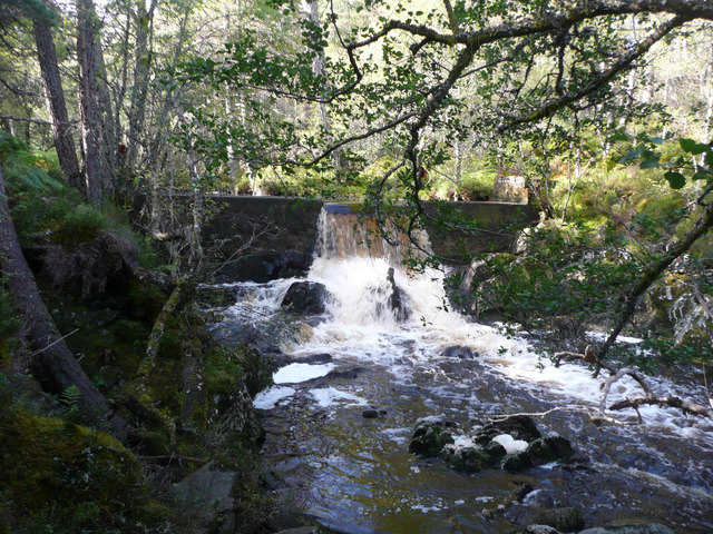 Weir on Dall Burn