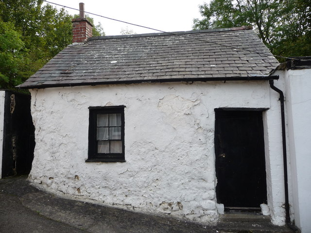 Old building in New Quay