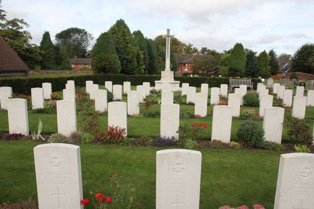 Some of the war graves