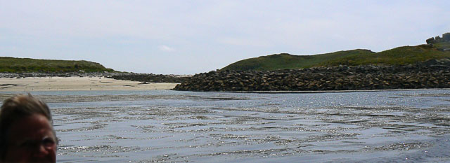 Little Arthur, Scilly, from the North-west