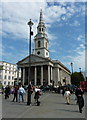 TQ3080 : The church of St. Martin in the Fields, London by pam fray