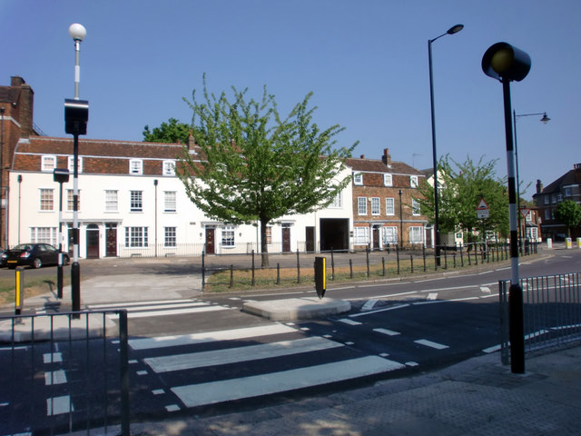 Zebra Crossing, Southgate Green, London N14
