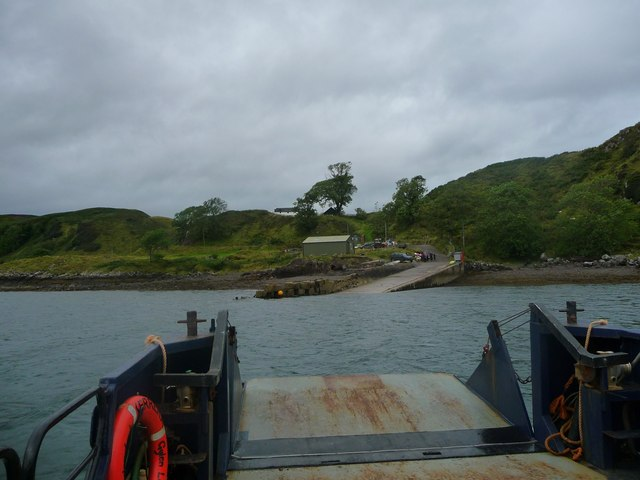 Ferry slip on Kerrera