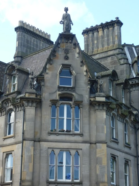 Victorian building, Castle Terrace