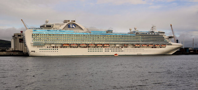 "The ""Emerald Princess"", Belfast"