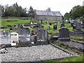 C1812 : Old church and graveyard, Letterkenny by Kenneth  Allen