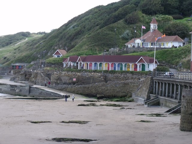 Bathing Huts at Scarborough