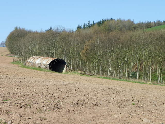 Ploughed field near Marygold