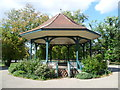 TQ3275 : The bandstand in Ruskin Park by Ian Yarham