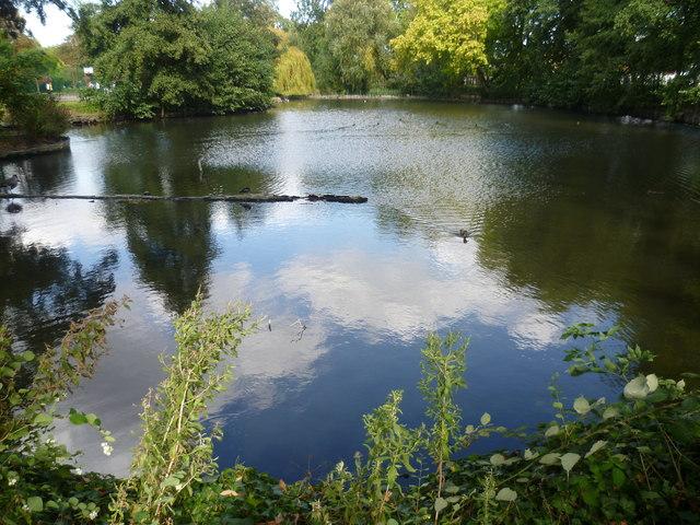 The lake in Sunray Gardens