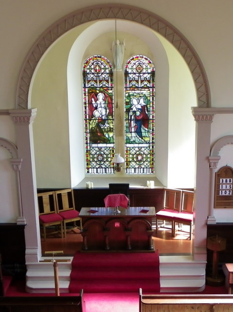 Chancel, Bonkyl Church