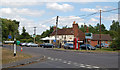 SU6857 : Cross Roads in Sherfield on Loddon by Clive Perrin