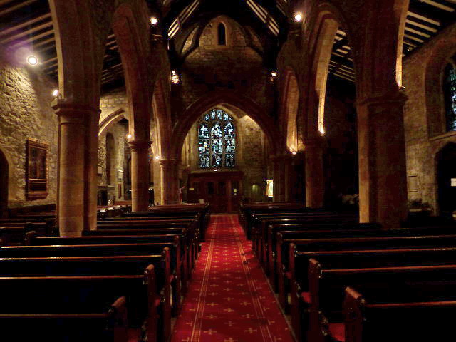 Parish Church of St Mary and St Cuthbert, Chester-le-Street, Interior