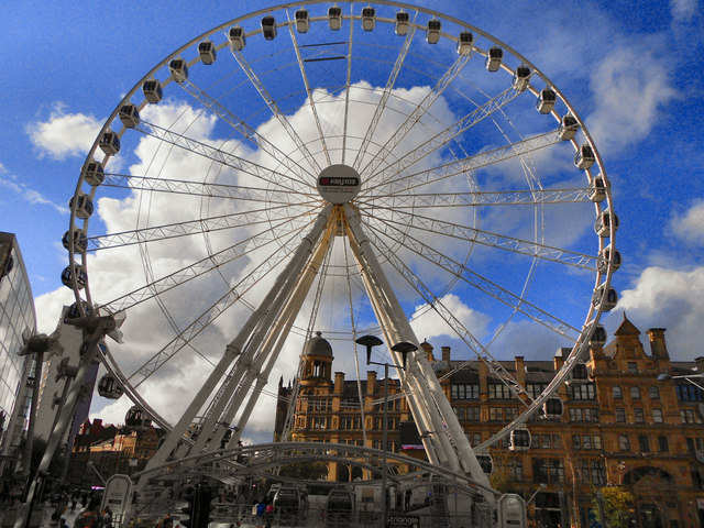 The Manchester Wheel, Corporation Street