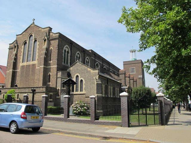Greek Orthodox Cathedral of the Holy Cross and St. Michael, Golders Green Road (A502), NW11