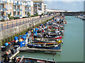 TQ3402 : Fishing Boats at Brighton Marina by Oast House Archive