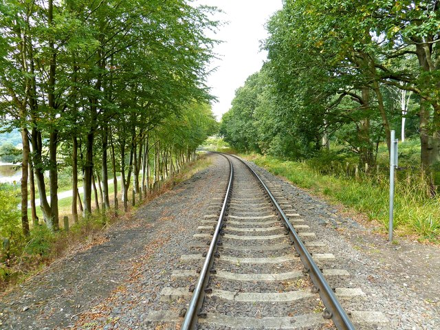 Severn Valley Railway Track, Trimpley Reservoir