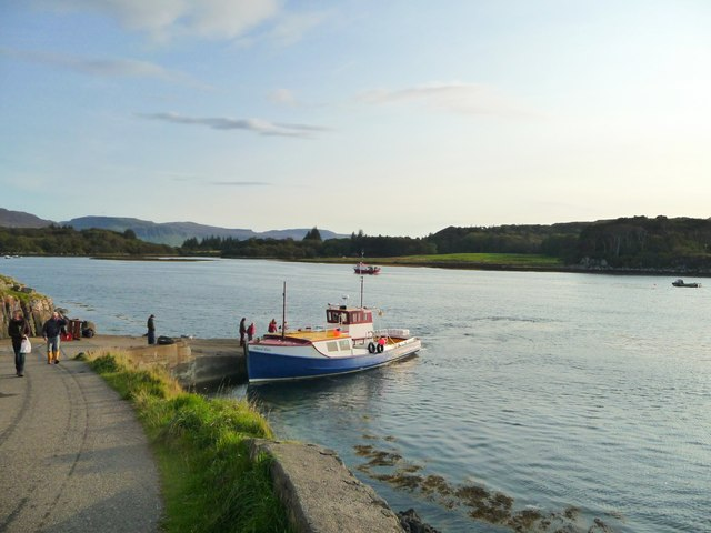 Ferry slip to Ulva