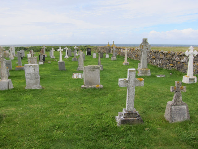 Burial ground, Borve Point