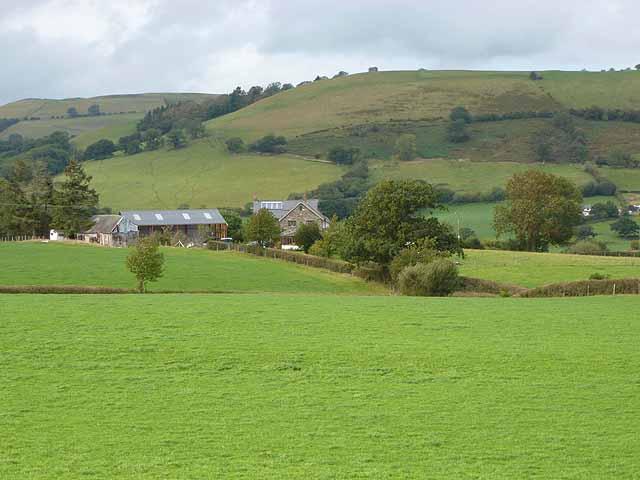 Cefn Farm, near Trefeglwys