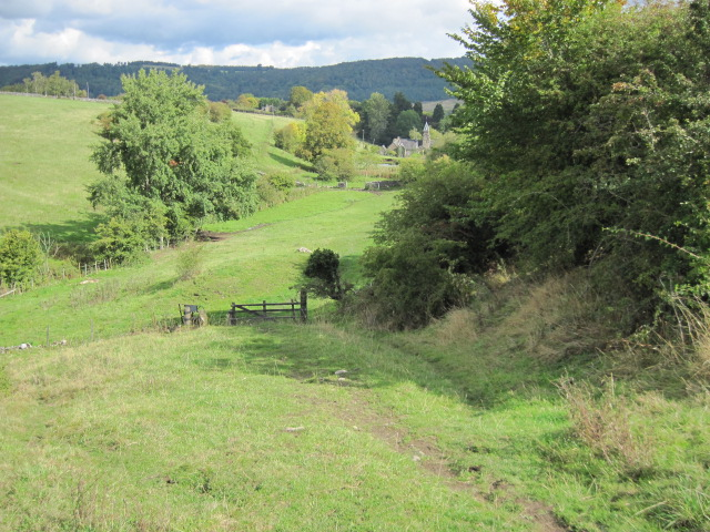Footpath towards Bakewell