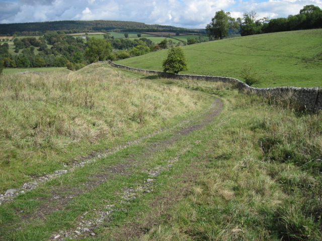 Footpath towards Haddon Hall