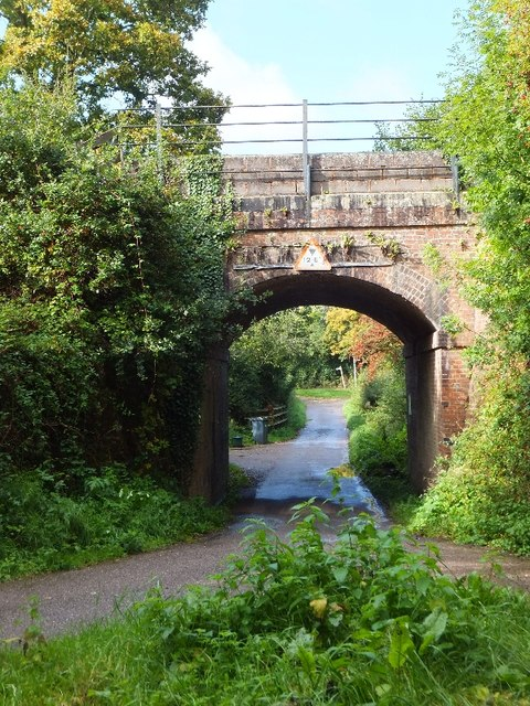 Railway bridge at Whimple