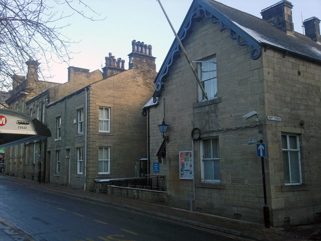 Hebden Bridge Police Station, Hope Street