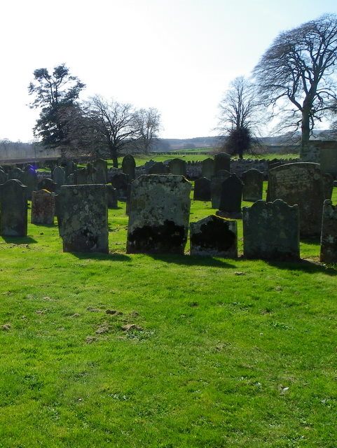 Graveyard, Edrom Church