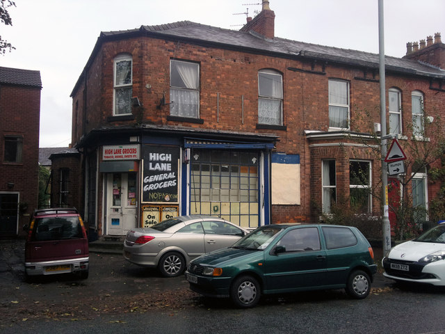 High Lane Grocers, Chorlton-cum-Hardy