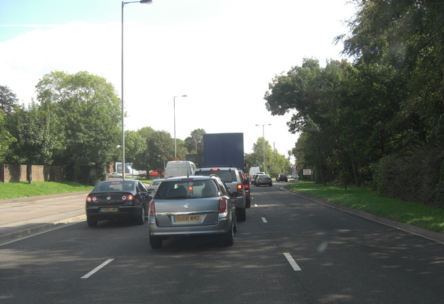 A33 as Milbrook Road West