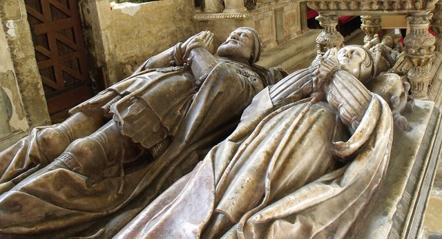 Tomb of 1st Earl of Rutland, St Mary's Bottesford
