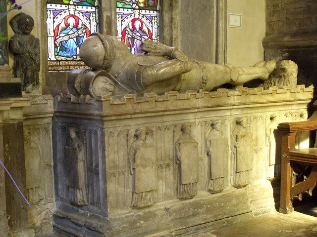 Tomb of John de Roos, St Mary's Bottesford