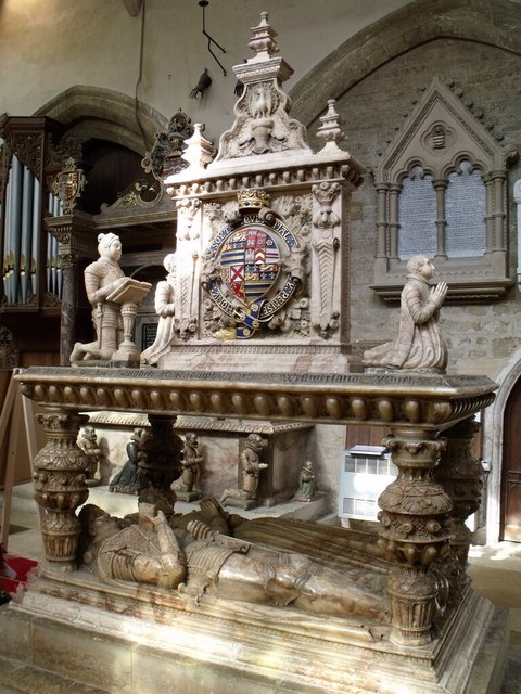 Tomb of 2nd Earl Rutland. St Mary's, Bottesford