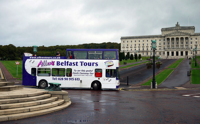 Tour bus, Belfast
