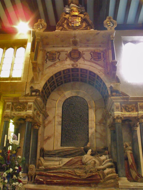 Tomb of 6th Earl of Rutland, St Mary's Bottesford