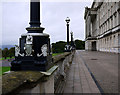 J4075 : Lampposts, Parliament Buildings by Rossographer