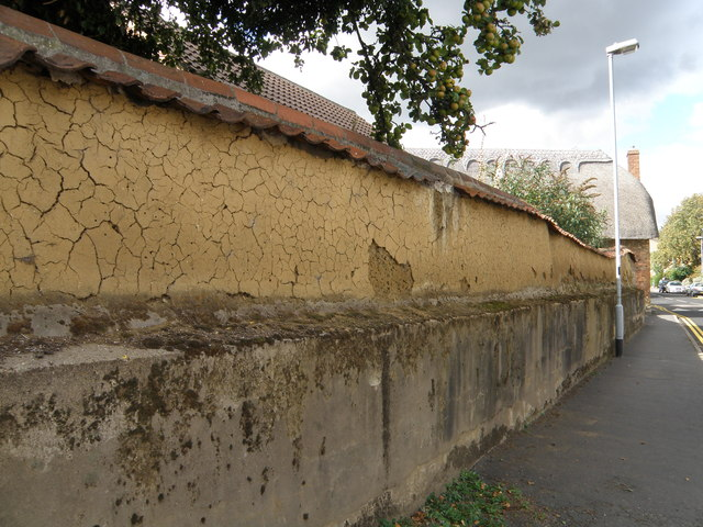 Cob wall, Oakham