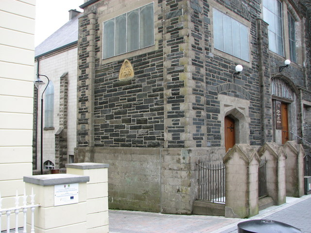 Plaque, Trinity Presbyterian Church, Letterkenny