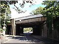 TQ4270 : Railway bridge over Elmstead Lane (2) by David Anstiss