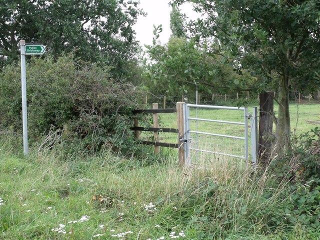 Padlocked Entrance to Public Bridleway