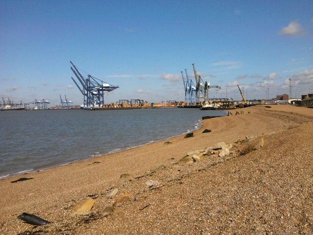 Felixstowe Dock