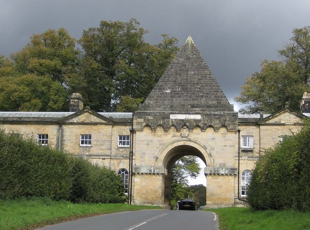 The Gatehouse from The Stray, Castle Howard Estate