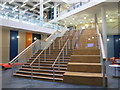 TQ2681 : City of Westminster College - staircase to 1st floor by David Hawgood