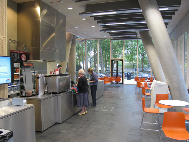 City of Westminster College - garden cafe