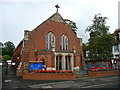 SU1541 : Amesbury - Methodist Church by Chris Talbot