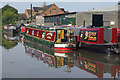 SU0262 : Boats moored by Devizes Marina by Stephen McKay