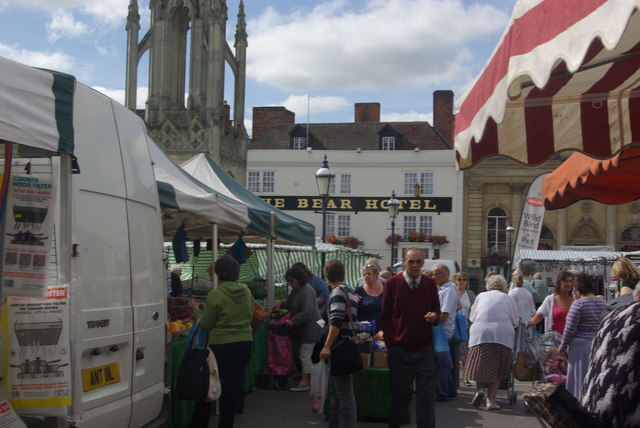 Market day in Devizes