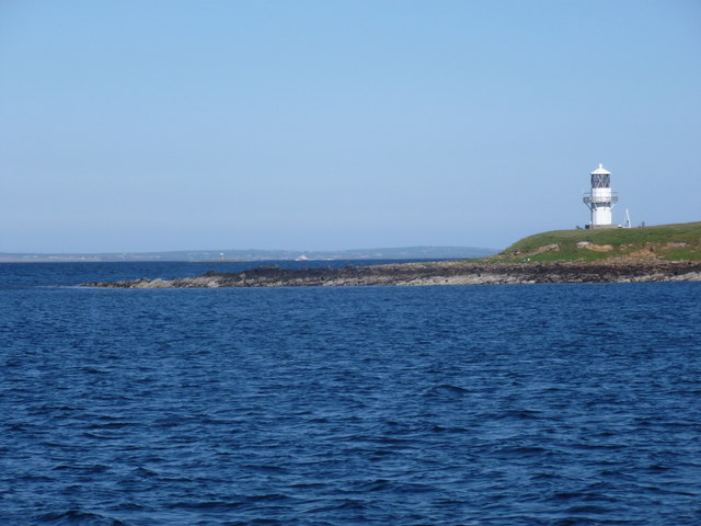 The Calf of Cava Lighthouse